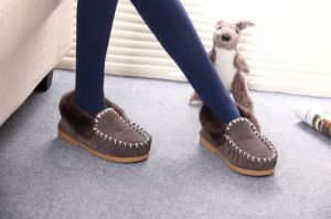 Sheepskin Casual Men Shoe for Winter pictures & photos