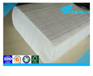 100% Wood Pulp White Hand Towel Paper