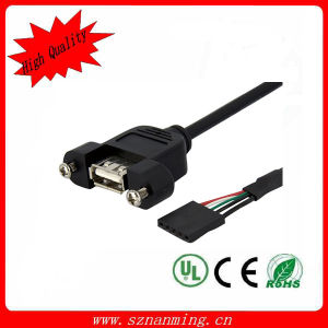 USB2.0 Af Panel Mount Cable pictures & photos