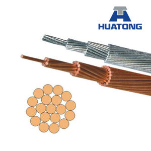 Flint AAAC Aluminium Alloy Conductor Electrical Cable, Bare Conductor ASTM B399 pictures & photos