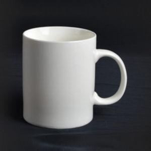 Super White Porcelain Mug with Handle - 14CD24361