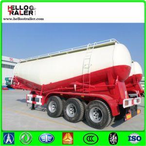 50cbm Bulk Cement Powder Tanker Transport Semi Truck Trailer pictures & photos