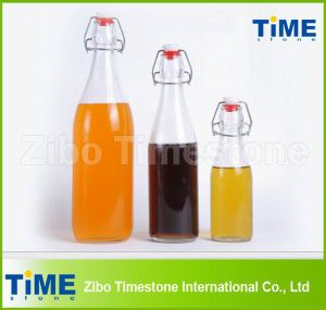 Wholesale Round Glass Drinking Water Bottle pictures & photos