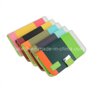 Rainbow Leather Case for Samsung Galaxy S5 pictures & photos