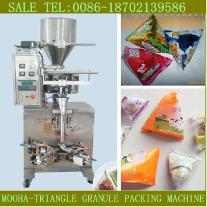 Triangle Bag Filling Sealing Machine for Granule and Liquid pictures & photos