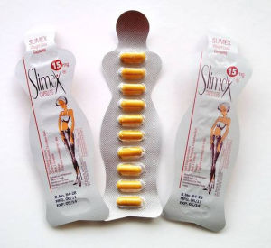 Orange Version Slimex 15 Burning Fat Slimming Capsule