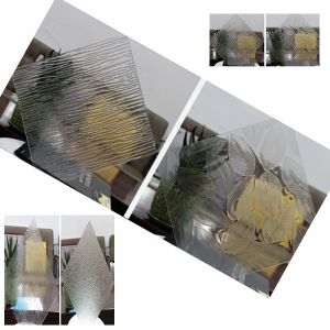 Glass 4mm 5mm 6mm Home Decoration Frosted Glass Patterned Glass pictures & photos