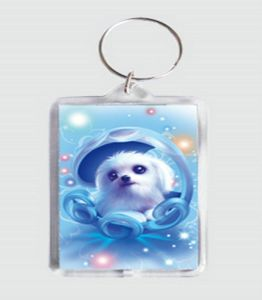 Custom Lovely Keychain, Acrylic Key Chain (GZHY-KA-056) pictures & photos