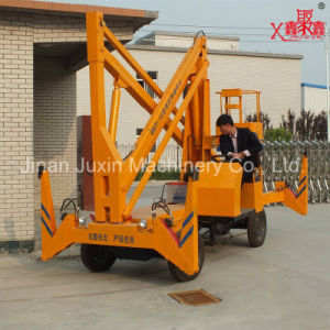 Self Drive Hydraulic Man Lift for Maintance pictures & photos