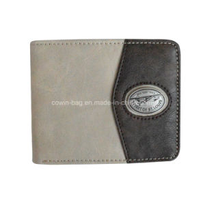 Customized Classic Bio-Folded Money Wallet with PU/PVC Leather pictures & photos