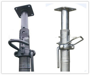 High Quality Low Price Heave/Light Duty Painted Adjustable Shoring Prop Scaffolding pictures & photos