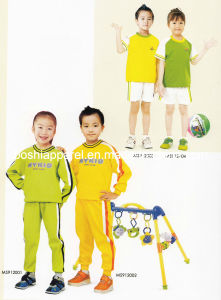 School Sportwear for Primary School of Sport Style Su09 pictures & photos