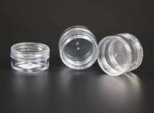 6ml*2 Cosmetic Cream Plastic Jar Wholesales (NJ43) pictures & photos