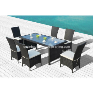 Rattan Furniture for Outdoor / Dining Set with SGS Cetificated (1024) pictures & photos
