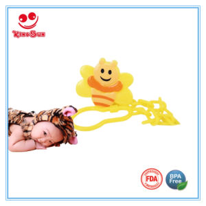 PP Cute Newborn Baby Pacifier Clip pictures & photos