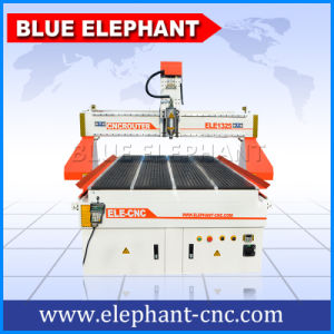 1300 * 2500 mm 4 Axis CNC Router Engraver Machine in Good Price with Rotary Device on The Vacuum Working Table pictures & photos
