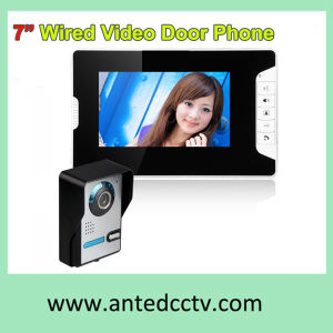 Wall Mount Wired 7 Inch Color Video Door Phones Doorbell Intercom pictures & photos