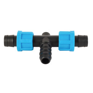 Garden Drip Irrigation PVC / Plastic Tee for Pipe/Tape/Hose pictures & photos