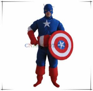 Captain American Mascot Costume Super Hero Series Cartoon Mascot pictures & photos