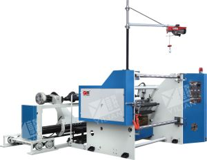 High-Speed Paper Slitting Machine, Non Shaft Auto Loading Slitting Machine, Computer Conyrol Slitting Machine (QFJ1100-1800) pictures & photos