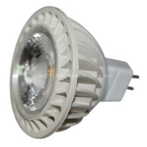 New 12V DC MR16 COB LED Down Spot Light 5W 6000k 2800k pictures & photos