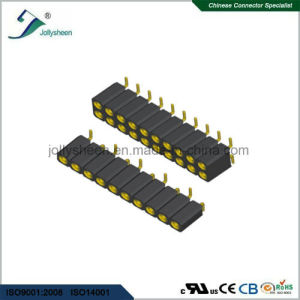 1.27mm SMT Type Machine Female Herader H2.8mm Connector pictures & photos