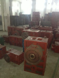 Gearbox Reducer of Single Screw and Barrel pictures & photos