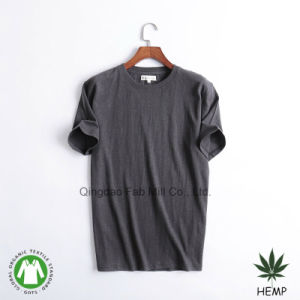 Men′s Hemp Organic Cotton T-Shirts (MST-01/02/03/04) pictures & photos