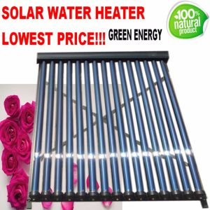 High Pressurized Heat Pipe Tube Solar Collector Water Heater pictures & photos