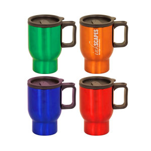 Plastic Travel Mug Auto Cup with Virgin Plastic Inner pictures & photos