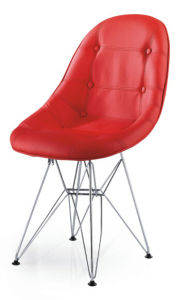 Modern New Design Leather Leisure Eames Chair, Eames Stool (SZ-LCF155A) pictures & photos