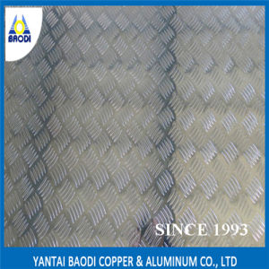 Anti-Skid Aluminum Checker Plate, Aluminum Sheet 1060 1050 1100 1200 3003 5052 5A03 5A05 5A06 5154 5254 6061 pictures & photos