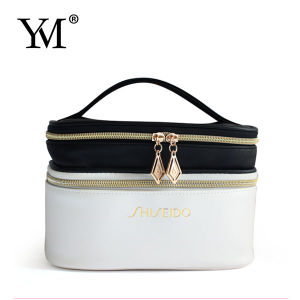 2015 Fashion Ladies Portable PU Vanity Cosmetic Bag pictures & photos