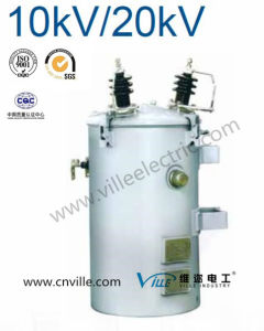100kVA Dh Series 20kv Single Phase Pole Mounted Distribution Transformer pictures & photos