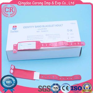 Disposable Different Color PVC ID Band for Hospital Use pictures & photos