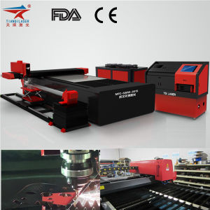 Fiber Laser Carbon and Metal Cutter with Electrical Cabinet pictures & photos