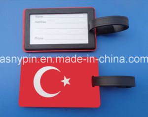 Turkey Flag Luggage Tag Country Bag Tag pictures & photos