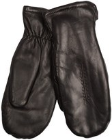 Women Leather Mittens Glove for Cold Winer (WTS864)