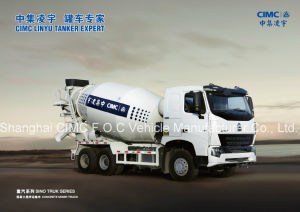 Sinotruk HOWO A7 6*4 Special Vehicle Mixer Truck pictures & photos