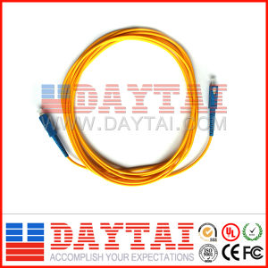 Sc/Upc to Sc/Upc Sm Fiber Optic Patch Cord pictures & photos