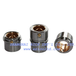 Headed Guide Bushing Oil Groove Steel, with Bronze Coated Internal Bore
