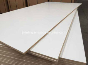One Side Melamine MDF/Single Side Paper MDF pictures & photos