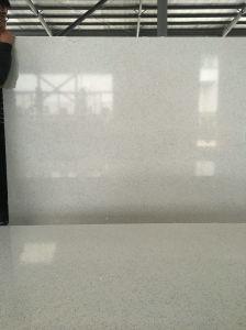 Fine Grain White Quartz Stone for Solid Surface pictures & photos