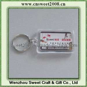 Custom Design Plastic Key Chain (KYC23068) pictures & photos