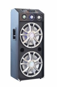 "Double 15"" Bluetooth DJ Speaker E23 pictures & photos"