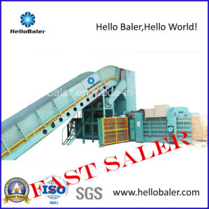 Cardboard Automatic Baling Machinery with Conveyor (HFA13-20) pictures & photos