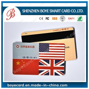SGS Approved Plastic Magnetic Stripe Card pictures & photos
