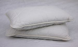 White Solid Colour Cotton Pillow