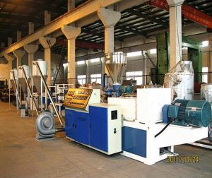 PVC Hot Cutting Pelletizer/Pelletizing Machine pictures & photos