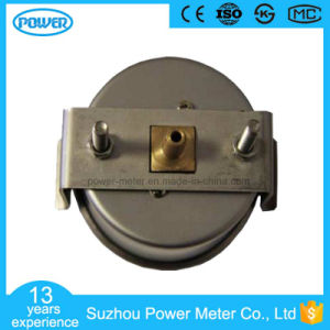 60mm Stainless Steel Case Back Type Bellows Pressure Gauges with U-Clamp pictures & photos